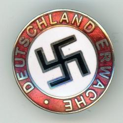 WWII German Deutschland Erwache pin