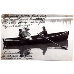 Vintage postcard 1909