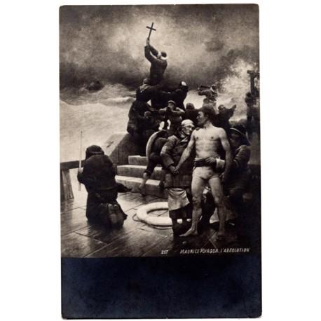 Vintage postcard 1910