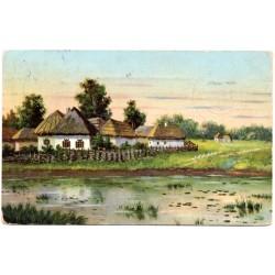 Vintage postcard 1914