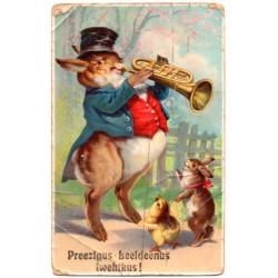 Vinatge postcard 1909