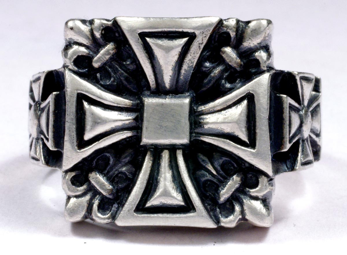 Sterling Silver Biker S Rings For Sale