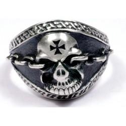Men's Biker Ring