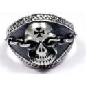 Мужское байкерское кольцо