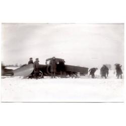 Vintage Latvian postcard-technique