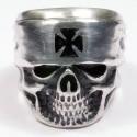 Men's Biker Ring from silver