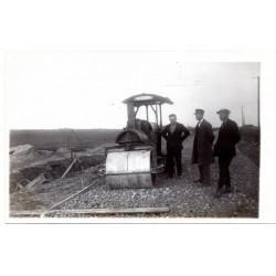 Vintage Latvian postcard -technique
