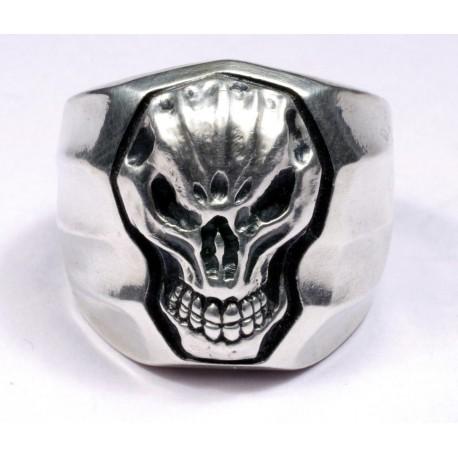 Sterling silver  Biker`s Ring