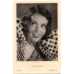 Vintage postcards- cinema star Trude Berliner