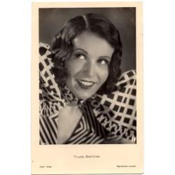 Vintage postcards- cinema star Trude Berliner