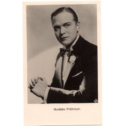 Vintage postcards-cinema star Gustav Frohlich