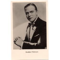 Vintage postcards-cinema star Gustav Frohlich