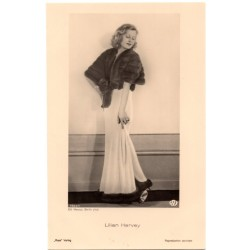 Vintage postcards-cinema star Lilian Harvey