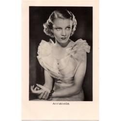 Vintage postcards-cinema star - Annabella