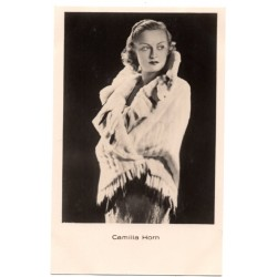 Vintage postcards-cinema star Camilla Horn