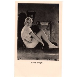 Vintage postcards-cinema star Anita Page