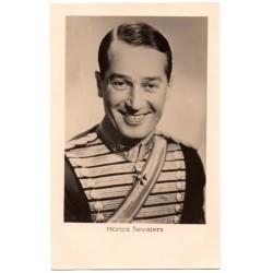 Vintage postcards-cinema star Morics Sevalers