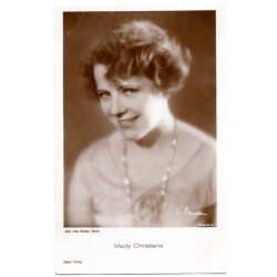 Vintage postcards- cinema star Mady Christians