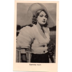 Vintage postcards- cinema star Camilla Horn