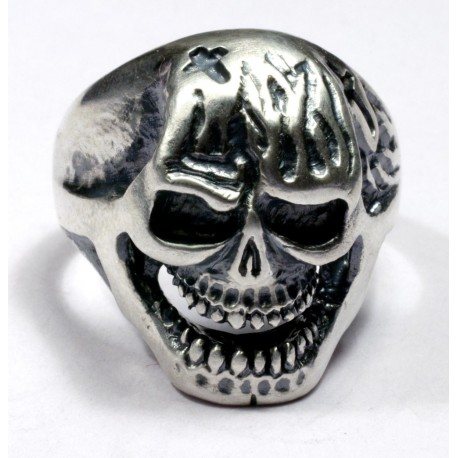 Biker`s Ring from sterling silver