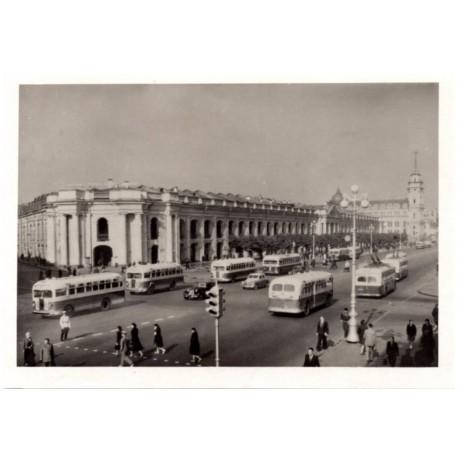 USSR postcards- city sights
