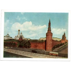Vintage USSR postcards- city sights