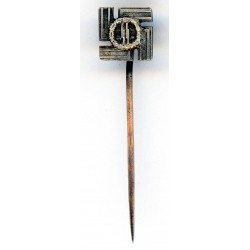 WWII German Silver Stick Pin