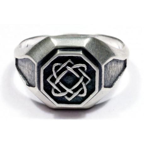 Men`s silver ring