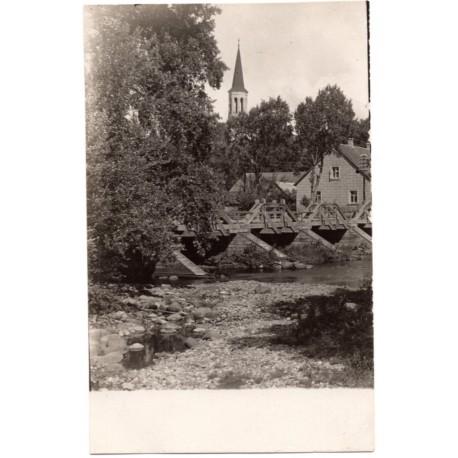 Vintage Latvian postcards- city sights