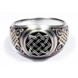 Men`s ring from silver