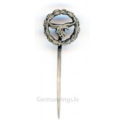 German WW2 Luftwaffe Eagle Stick Pin