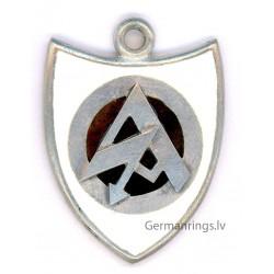 WW II BräunenHernd German Silver pendant