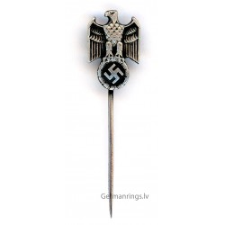 WW2 WWII German Wehrmacht silver stickpin