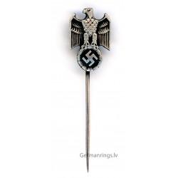 WW2 WWII German Wehrmacht silver stickpin