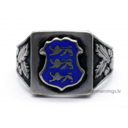 Estonian Patriotic Silver Ring
