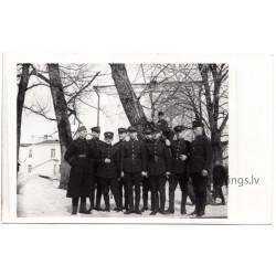 Latvian military themed postcards