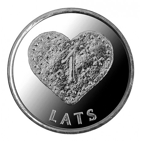 1 Lats 2011, Gingerbread heart