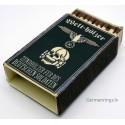 WWII Nazi German Waffen SS Vintage Matchbox - Zündhölzer