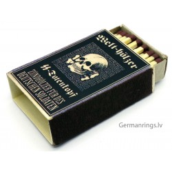 WW2 GERMAN WAFFEN SS PROPAGANDA MATCHBOX