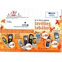 Latvian Phone Bill Envelope